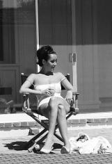 YUL BRYNNER Elizabeth Taylor at Home, Hollywood, 1959