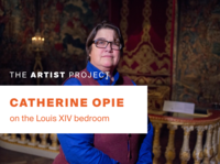 Catherine Opie on the Louis XIV Bedroom