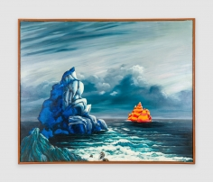 Painting by Joanna Beall Westermann titled Seascape from 1967