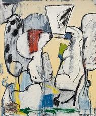 "Eddie Martinez's ""Untitled,"" 2013.CreditCourtesy of the Journal Gallery"