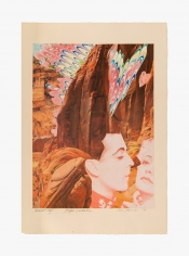 Collage by Joanna Beall Westermann titled Dearest Cliff, Happy Valentine! Love Joanna from 1974