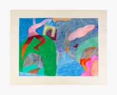 Untitled work on paper by Joanna Beall Westermann from 1959