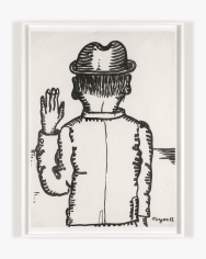 Work on paper by Maryan titled Personnage from 1962
