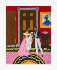 Painting by Andrew LaMar Hopkins titled  Creole Tranquility