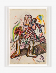 Work on paper by Maryan titled Untitled from 1966