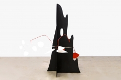 Alexander Calder Crag with White Flower and White Discs, 1974