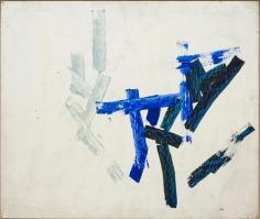 Charlotte Posenenske Spachtelarbeit [Palette-knife work]