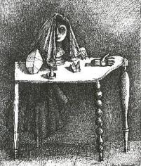 Alberto Giacometti La table surrealiste