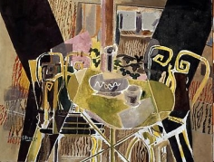 GEORGES BRAQUE, (French,1882-1963), The Terrace,circa1948-49