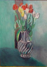 HENRI MATISSE, (France, 1869-1954), Tulips, 1914