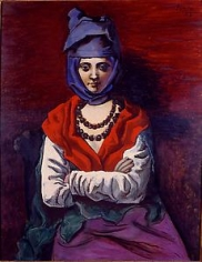 PABLO PICASSO, (France, 1881-1973), Woman with a Turban,1923