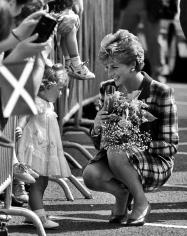 Harry Benson, Princess Diana, Glasgow, 1992