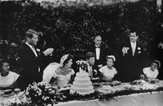Toni Frissell, John F. Kennedy and Jacqueline Bouvier Wedding, Newport, Rhode Island, 1953