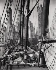 Berenice Abbott, Theoline, Pier 11, East River, NY, 1936