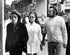 Ron Galella Michael Wilding Jr., Liz Taylor and Richard Burton, NYC, September, 1969