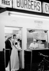 Pamela Hanson, Hot Dog Stand: Trish Goff, Los Angeles, VOGUE, 1993