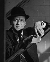 "Ron Galella, Frank Sinatra on the set of ""The Detective"", 67th Street Precinct, New York, 1967"