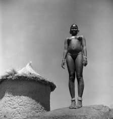 George Rodger, A Young Unmarried Girl of the Massakin Tiwal Tribe, Sudan 1949