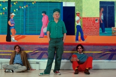 Susan Wood, David Hockney, 1980