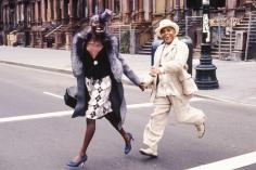 Arthur Elgort, Jon Hendricks in Harlem, NYC, The New Yorker, 2000