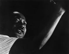 Harry Benson, Martin Luther King, Jr., Canton, Mississippi, 1966
