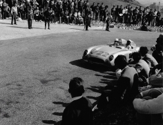 Jesse Alexander, Stirling Moss and Denis Jenkinson, Mille Miglia, Italy, 1955