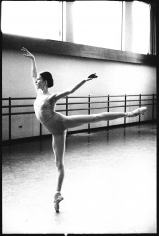 Arthur Elgort, Darcy Kistler at The School of American Ballet, New York, 1980
