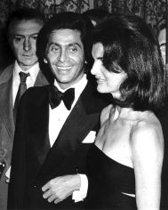 Ron Galella, Valentino and Jackie Onassis, Valentino Fashion Show to Benefit the Special Olympics, Pierre Hotel, New York, 1976
