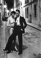 Helmut Newton, Rue Aubriot, Paris Collections, 1975