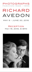 Richard Avedon, Exhibition Invitation