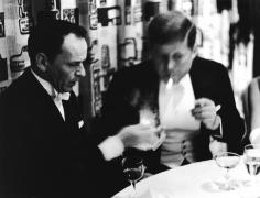 Phil Stern, Frank Sinatra and John F. Kennedy