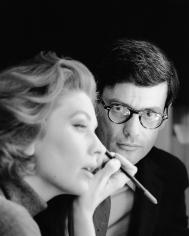 Rico Puhlmann, Suzy Parker and Richard Avedon, New York, 1960
