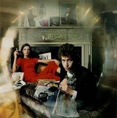 "Daniel Kramer, Bob Dylan and Sally Grossman, ""Bringing it all Back Home"" Album Cover, Woodstock, New York, 1965"
