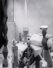 Edward Steichan, Constantin Brancusi in his studio, Paris, 1927