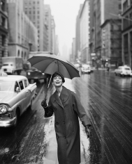William Helburn, Carmen Under an Umbrella, New York, 1958