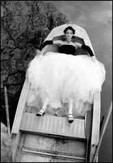 Arthur Elgort, Helena Christensen in New Orleans, British Vogue, 1990
