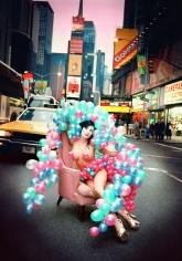 David LaChapelle, Porn Star in Times Square, NY, 1993