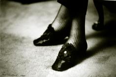 Deborah Turbeville, Diana Vreeland's Shoes, New York,VOGUE, 1981