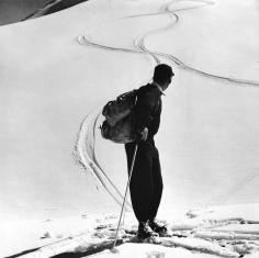 Toni Frissell, Skier, Switzerland, 1957