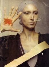 Deborah Turbeville,  Stigmata: Isabella at Ecole Des Beaux Arts, Paris, 1977