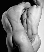 Herb Ritts, Wrestling Torsos, Hollywood 1987