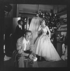 Louise Dahl-Wolfe, Designer Jacques Fath and Model Bettina at Chez Fath, Paris, 1950