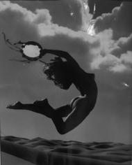 Andre De Dienes, Flying Nude, 1960