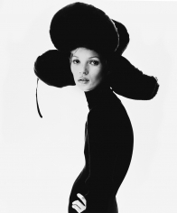 Steven Klein, Girl with Hat, Kate Moss, 1993