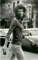 Ron Galella, Windblown Jackie, New York, 1971