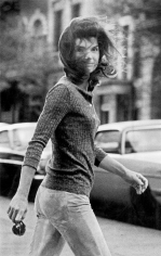 Ron Galella Windblown Jackie: Jacqueline Kennedy Onassis, New York, 1971