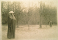 "Deborah Turbeville, Winter in the Park of Versailles, from ""Unseen Versailles"", 1980"