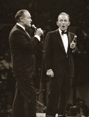 George Kalinsky, Bob Hope and Bing Crosby, Madison Square Garden, New York, 1968
