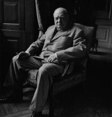 Toni Frissell, Winston Churchill, circa 1945
