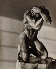 Herb Ritts, Male Nude on Log, Los Angeles, California, 1986